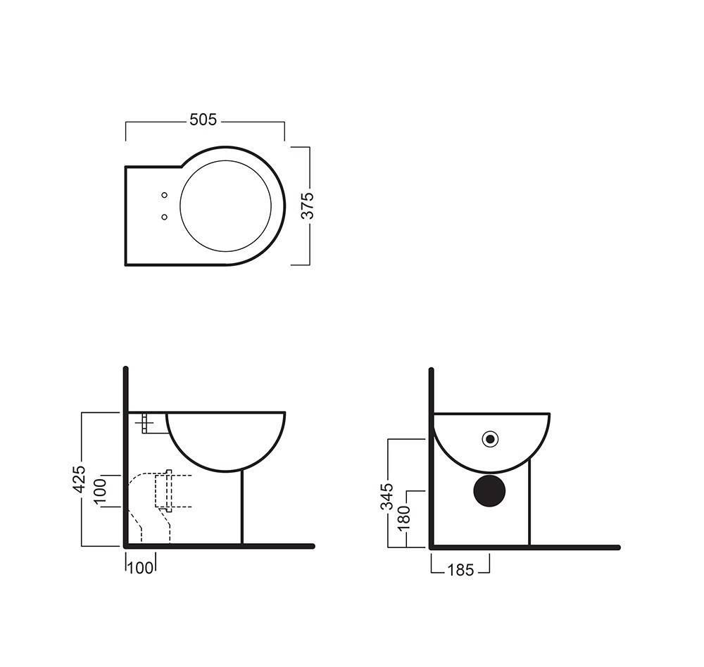 Установка углового унитаза: 2 основных метода и вида модели