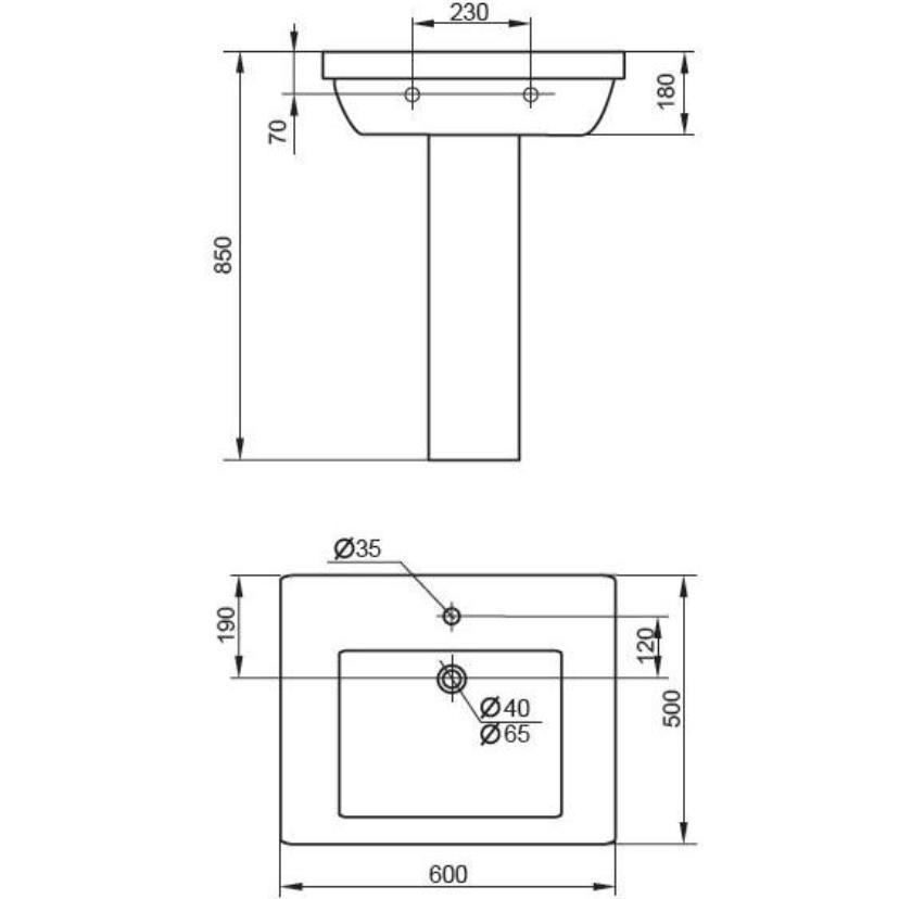 Самостоятельная установка раковины в ванной