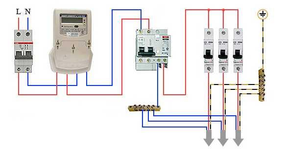 Как подключить дифференциальный автомат: возможные схемы подключения + пошаговая инструкция