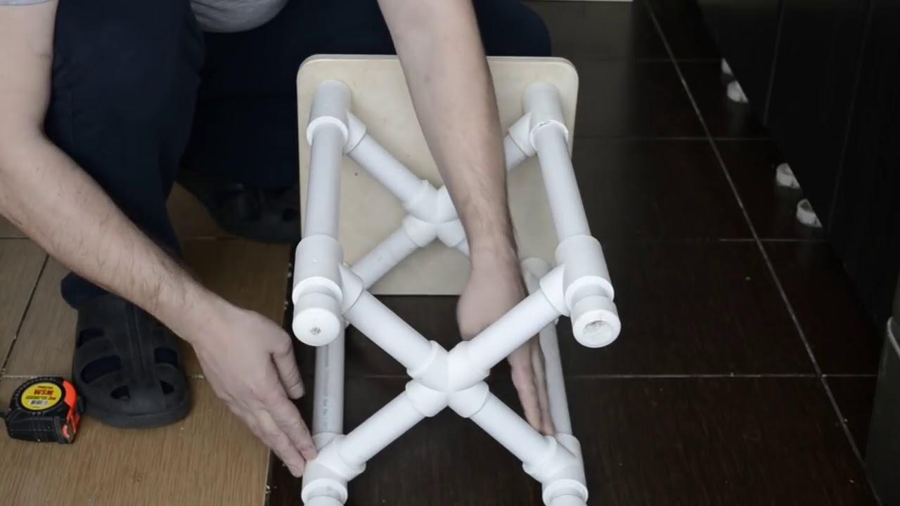 Поделки из пластиковых труб: что можно сделать своими руками из труб пвх