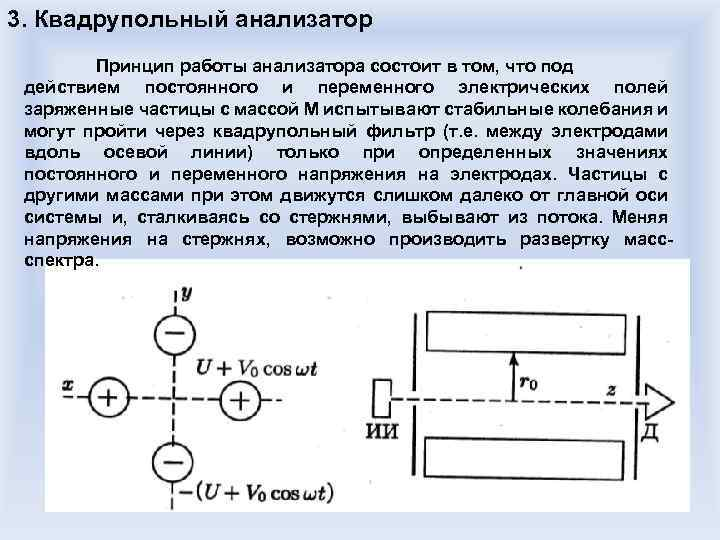 Принцип работы газоанализатора