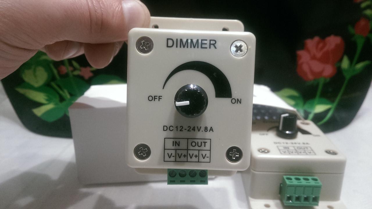 Выключатель с регулятором яркости света (диммер): виды и подключение