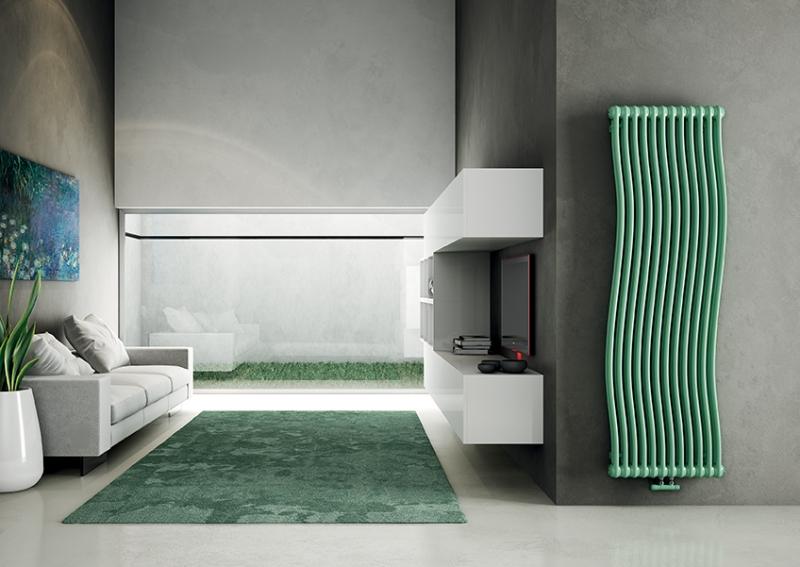 Дизайнерские радиаторы отопления - декоративные, цветные, ретро, элитные, фото