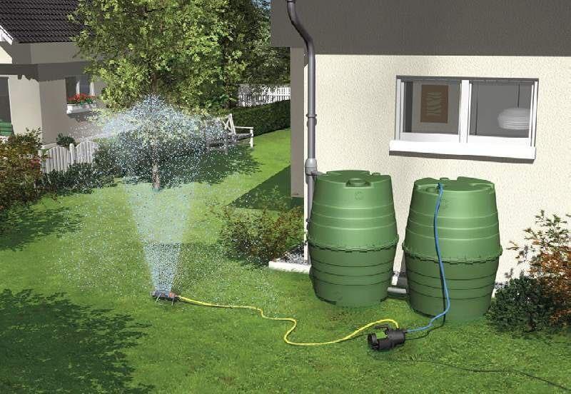 Система сбора дождевой воды в загородном доме и на даче