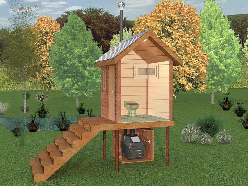 Деревянный туалет для дачи своими руками - пошаговая инструкция с фото, чертежами и видео