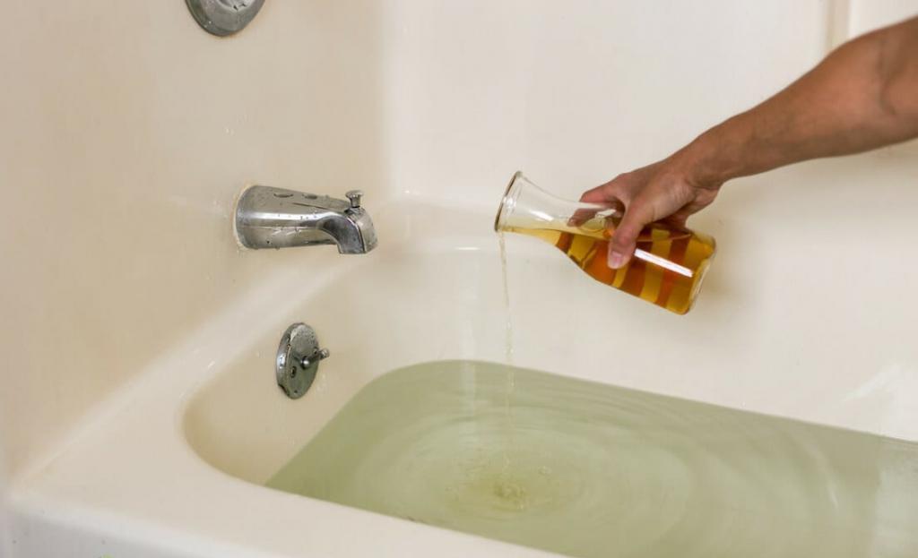 Как отбелить ванну в домашних условиях: народные рецепты и бытовая химия
