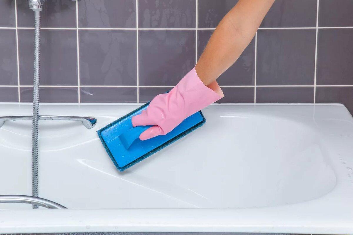 Как очистить ванну до бела: обзор действенных методов