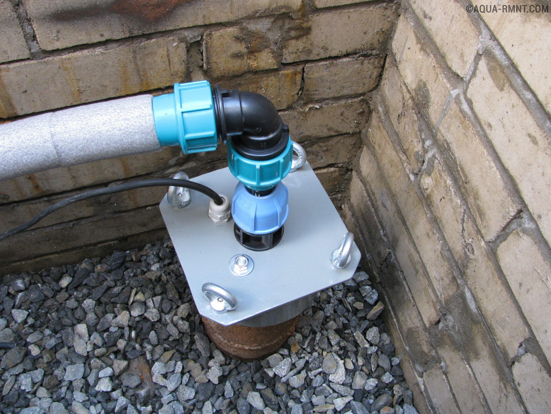 Может ли диаметр заборной трубы быть меньше входного отверстия насоса?