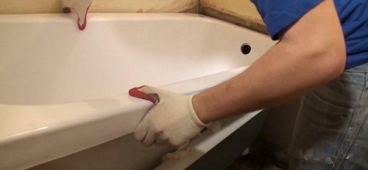 Акриловый вкладыш в ванну: установить самостоятельно