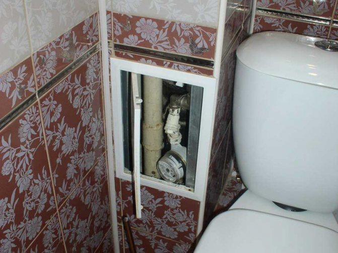 Как спрятать трубы в ванной: 3 лучших способа