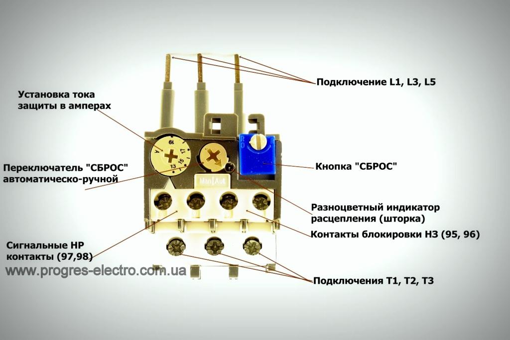 Схема подключения магнитного пускателя и теплового реле: объясняем обстоятельно