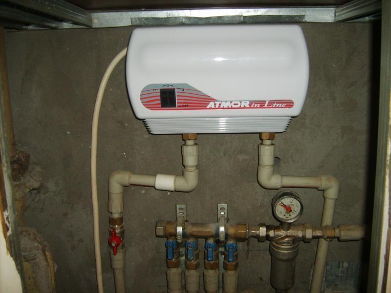 Особенности подключения проточного водонагревателя