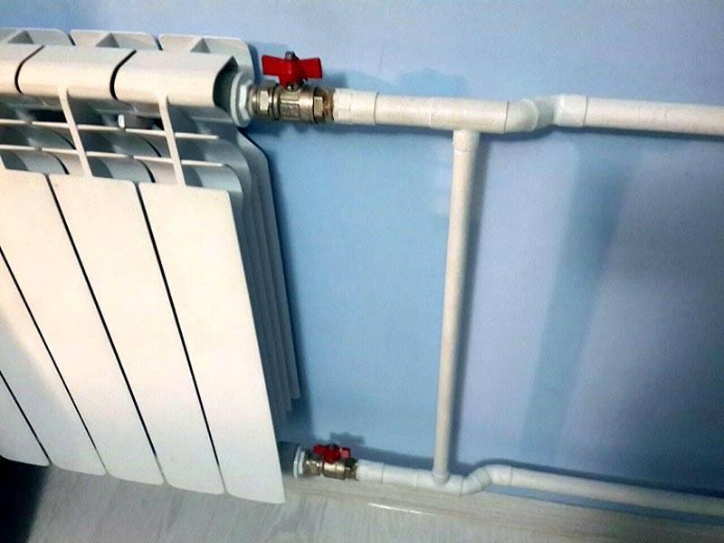 Установка кранов на батареи отопления: как производится замена своими руками, инструкция по монтажу, фото и видео