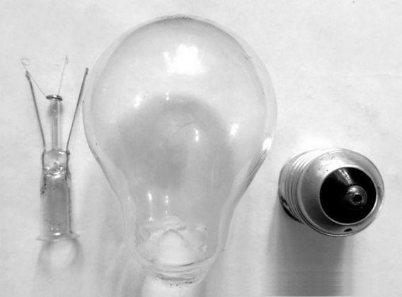 Как разобрать лампочку