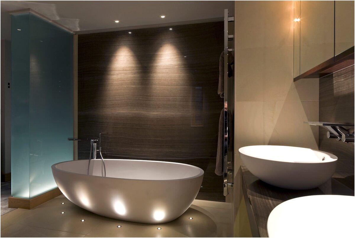 Подсветка для зеркала в ванной, какой бывает, советы по расположению