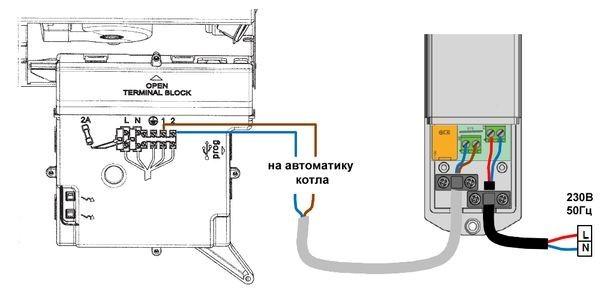 Подключение термостата к газовому котлу: пошаговая инструкция