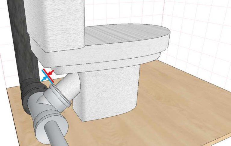 Как подключить унитаз к канализации: варианты и схемы