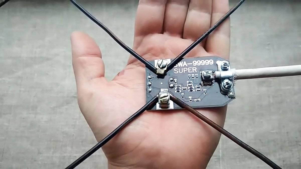 ТВ антенна своими руками: пошаговые инструкции по сборке популярных моделей телеантенн