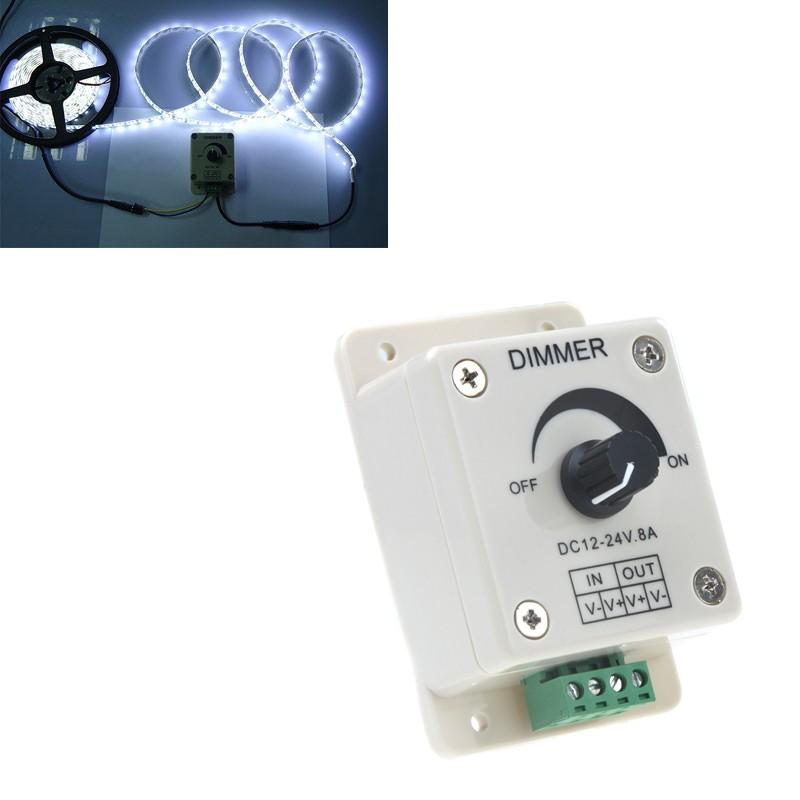 Как выбрать диммер для светодиодной ленты или сделать своими руками