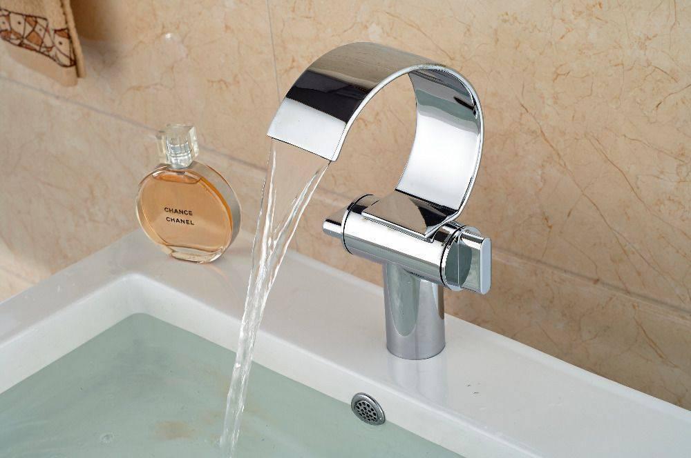 """""""водопад"""", смеситель для ванны и раковины: обзор, виды, описание и отзывы"""