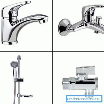 Как выбрать смеситель для ванной с душем - 8 главных принципов