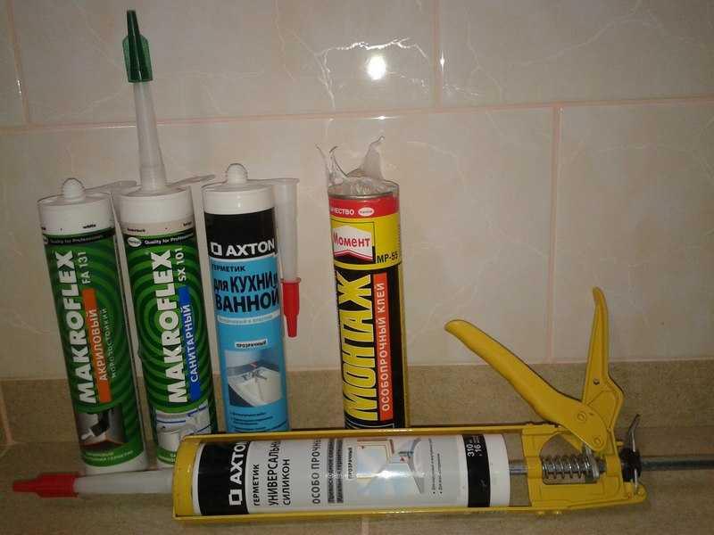 Какой герметик для акриловой ванны лучше: свойства и виды, подготовка и расход, советы от профессионалов, видео