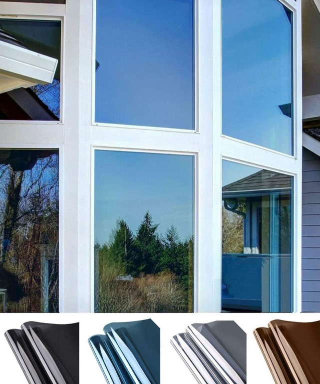 Разновидности и установка тонировочных плёнок на окна