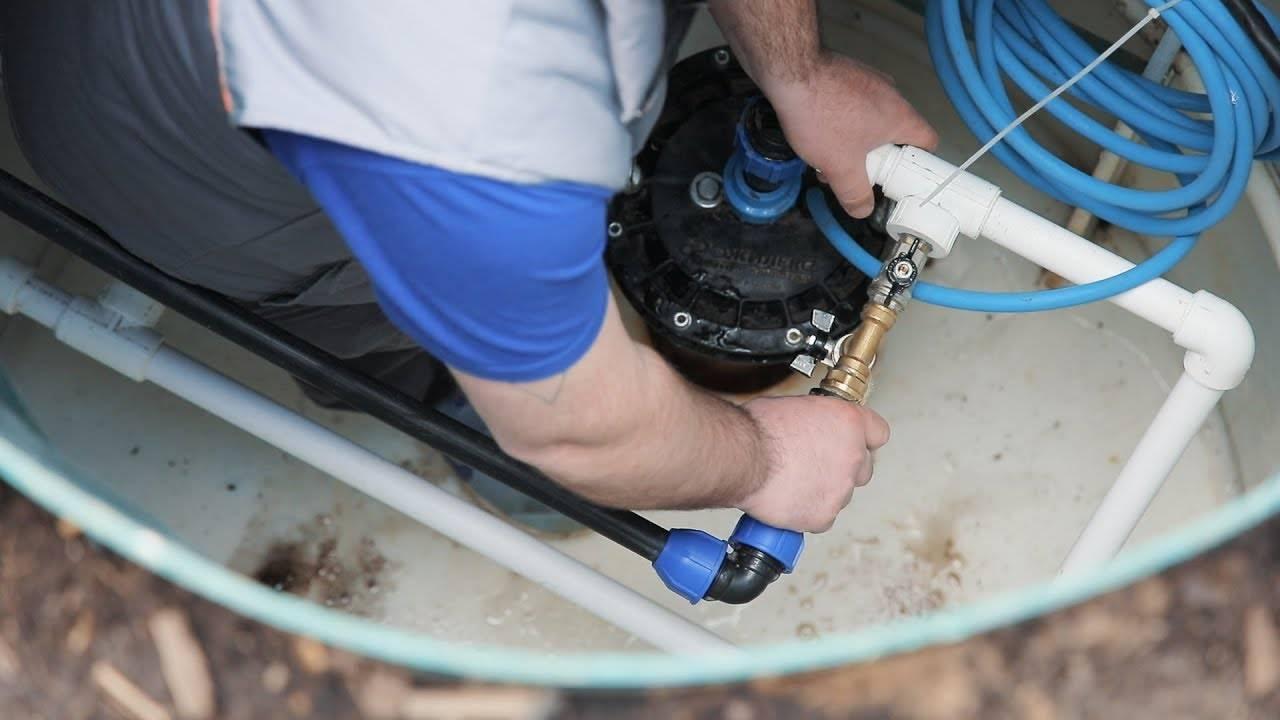 Как достать насос из скважины своими руками