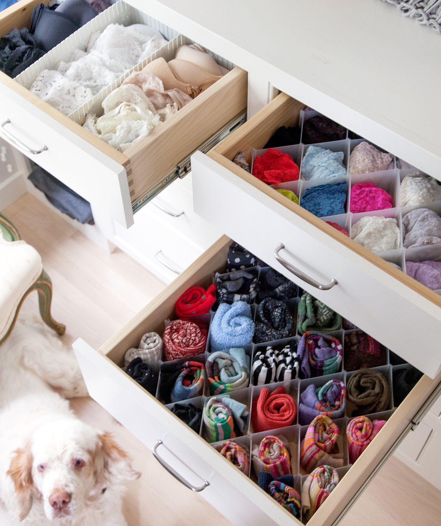 Секреты, помогающие навести порядок в шкафу всего за 20 минут: подготовка к уборке шкафа