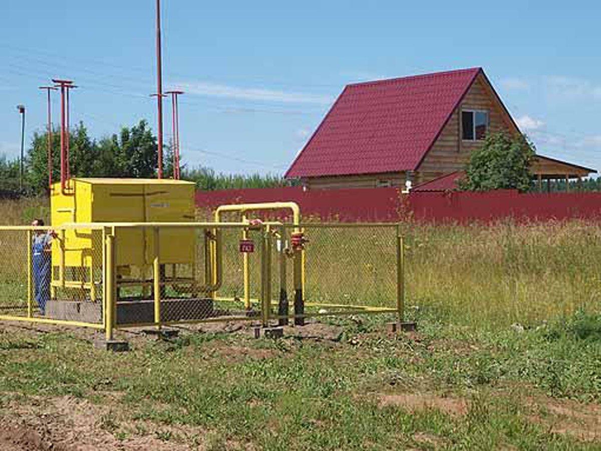 Можно ли подключить газ к незарегистрированному дому