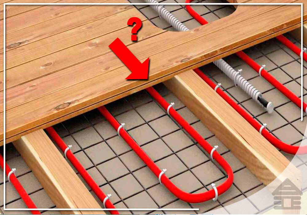 Как сделать теплый пол в деревянном доме: методы и пошаговые инструкции