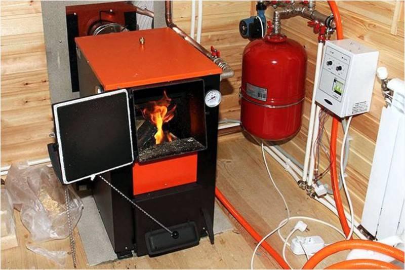 Печь с котлом водяного отопления – экономичный вариант домашней системы отопления