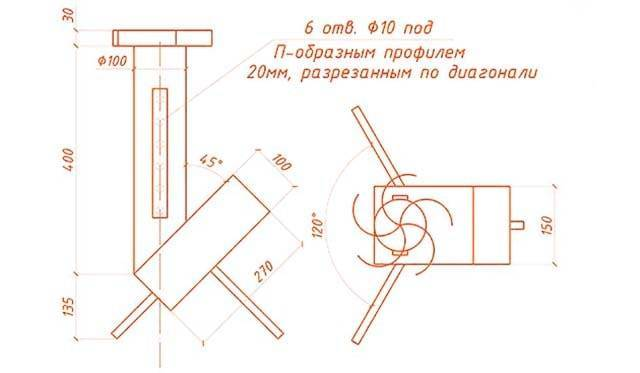 Самостоятельное изготовление печи ракетного типа