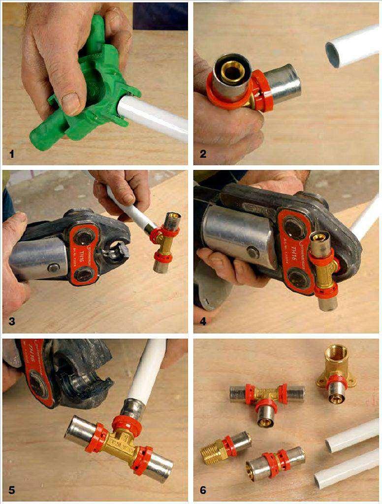 Обзор фитингов для соединения металлопластиковых труб
