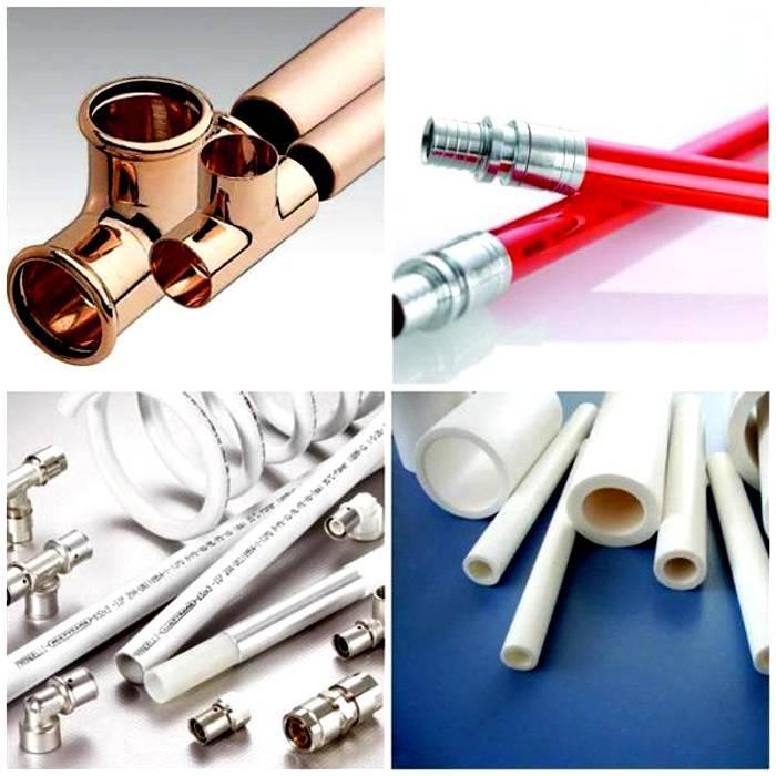 Сшитый полиэтилен или металлопластик для теплого пола: что выбрать, какие трубы лучше?