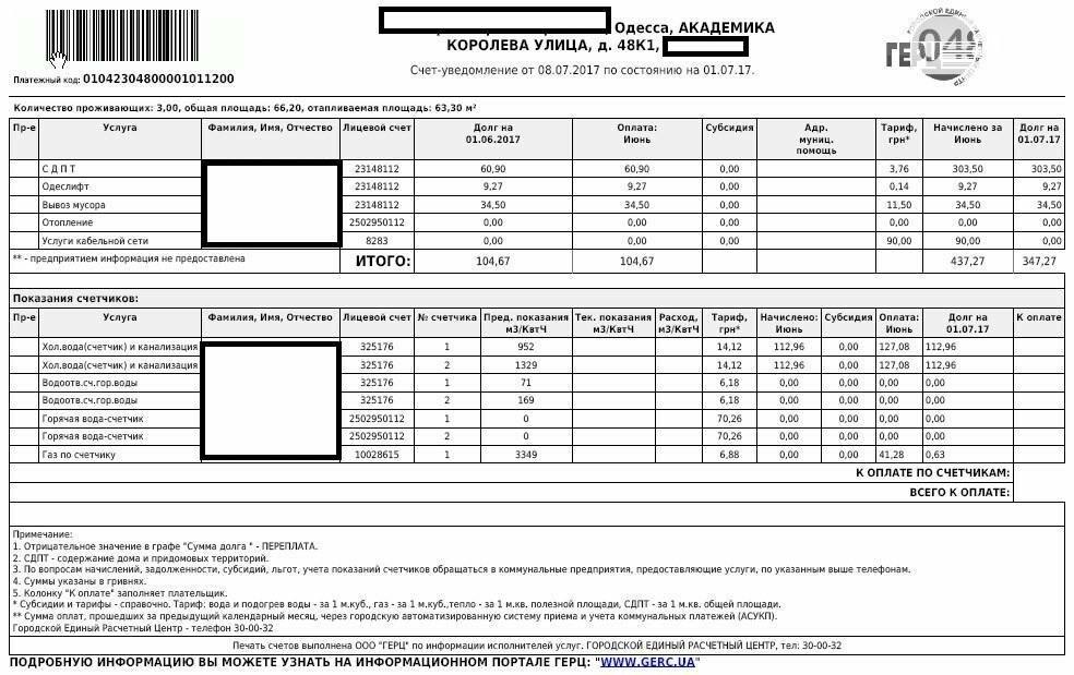 Как платить за воду по счетчику: начисления, если ипу не поверены, форма квитанции за коммунальные услуги - образец и бланк, а также расчет через госуслуги