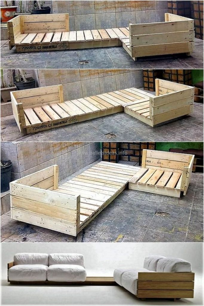 Мебель из поддонов: пошаговые инструкции как сделать своими руками стильные элементы мебели