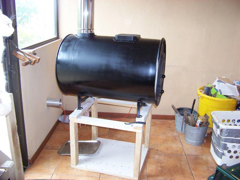 Печь для бани из бочки своими руками – пошаговая инструкция изготовления и установки
