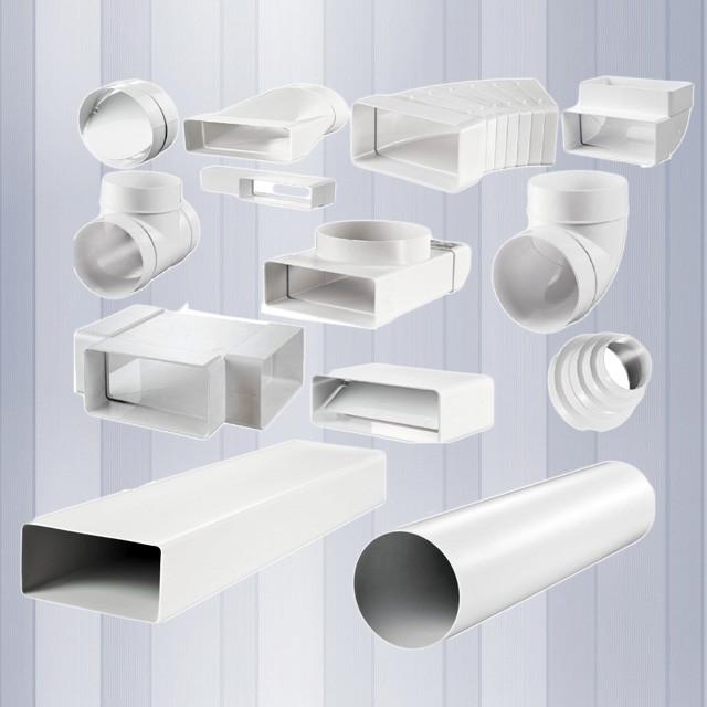 Пластиковые воздуховоды для кухонной вытяжки: правила монтажа