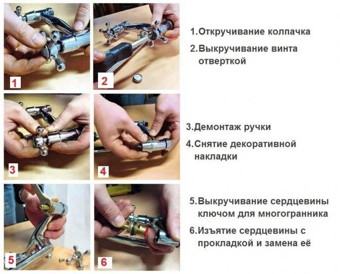 Замена картриджа в смесителе: пошаговая инструкция по установке