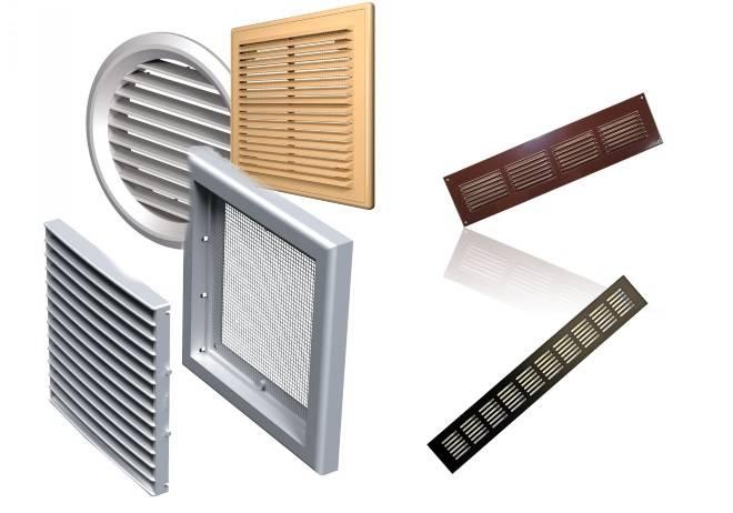 Вентиляционные решетки: классификация изделий + советы специалистов по выбору