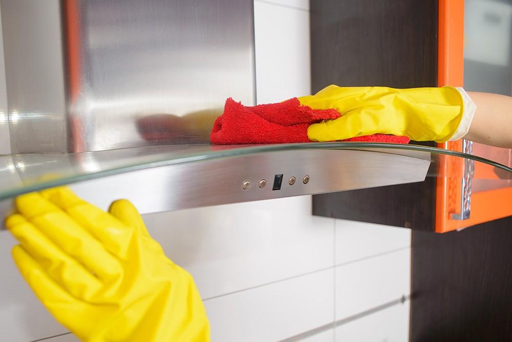 Как очистить вытяжку на кухне от жира в домашних условиях: содой, уксусом