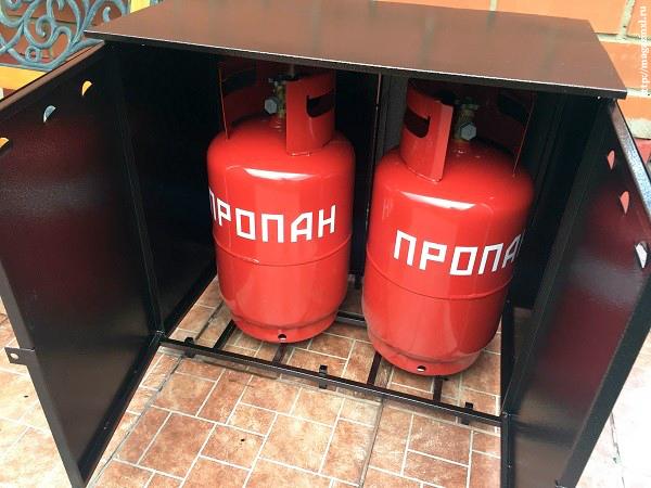 Хранение газовых баллонов в жилых домах и не только