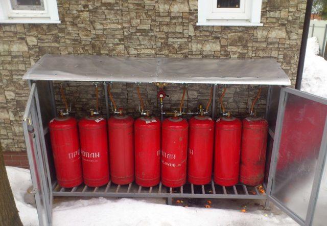 Для чего переводят котел на сжиженный газ
