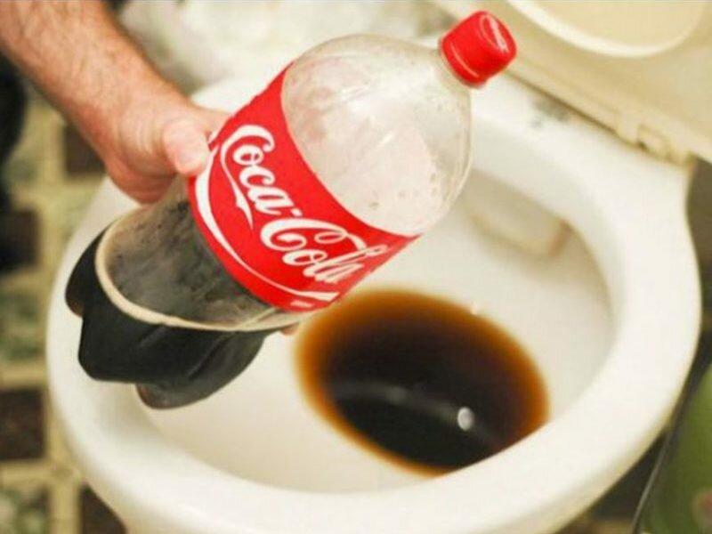 5 лайфхаков. что можно отмыть кока-колой?