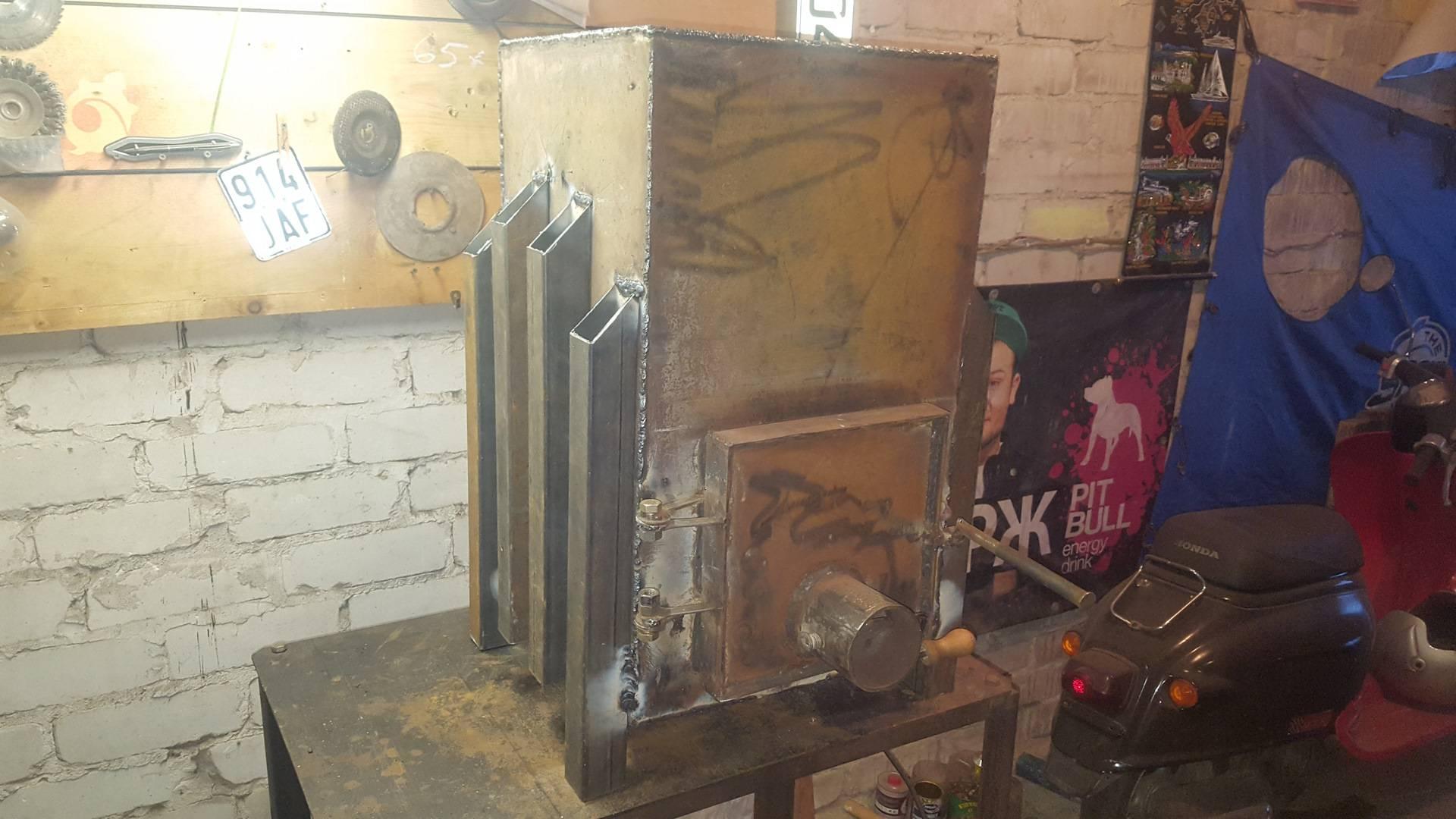 Обзор печей для обогрева гаража, делаем печь для гаража своими руками (инструкция и фото)