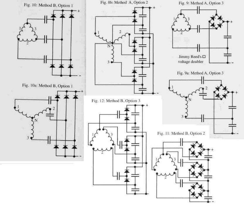 Как сделать генератор из асинхронного двигателя - пошаговая инструкция, схема + видео