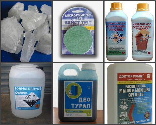 Какое средство для выгребных ям лучше: обзор живых бактерий, антисептиков и химии