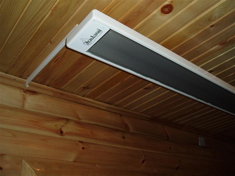 Альтернативное отопление – инфракрасные обогреватели