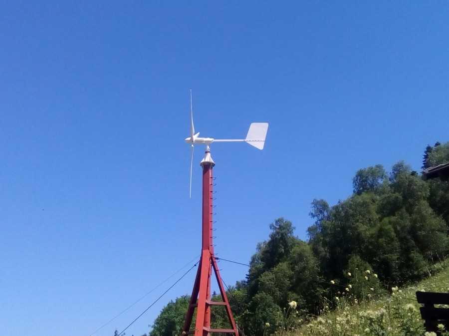Самодельный ветрогенератор из автомобильного генератора